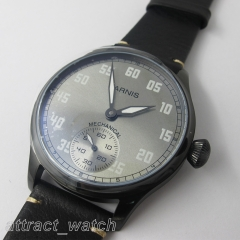 Black Case Gray Dial